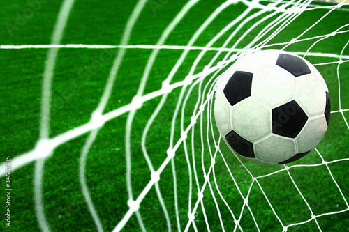 fototapeta na szkło soccer