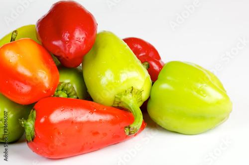 Fotobehang Groenten Bell pepper mix