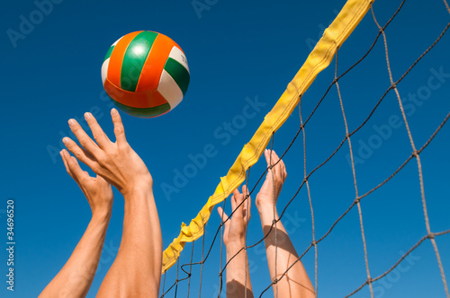 Beachvolleyball Canvas Print