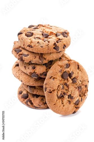 Tuinposter Koekjes Cookie Stack