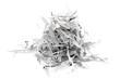 Leinwanddruck Bild - Shredded paper strips