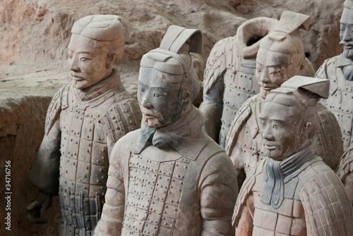 Staande foto Xian Armée de terre cuite, Chine 13