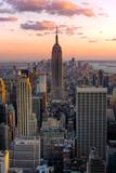 Fototapeta Nowy Jork - New York Empire state building