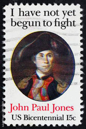 Photo Postage stamp USA 1979 John Paul Jones