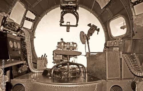 Fotografie, Obraz  Old bomber cockpit