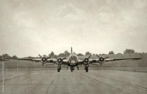 Obraz na plátne Old bomber