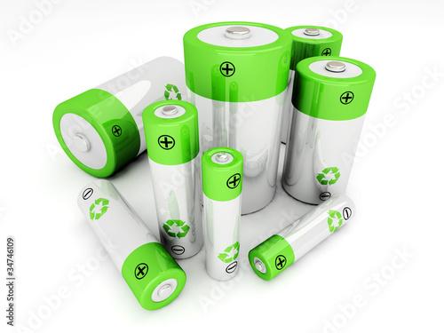 Canvastavla Set of rechargeable batteries