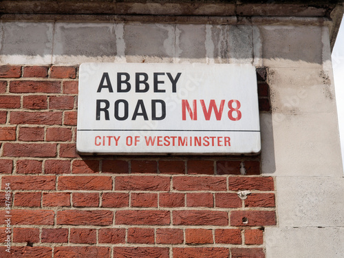 Photo  Abbey Road, London, UK