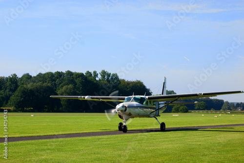 Fotografia, Obraz  Small turboprop plane