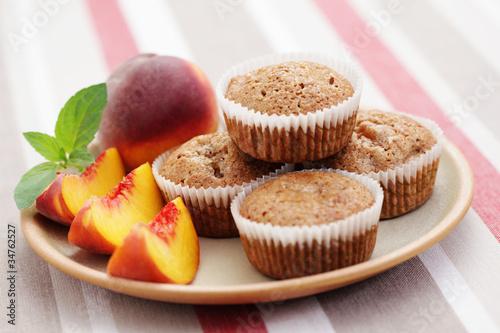 Fotografia peache's muffin