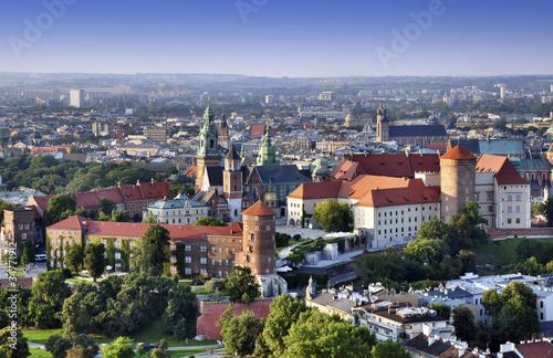 obraz PCV Zamek Królewski na Wawelu w Krakowie