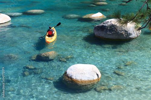 Valokuva  kayaker