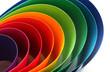 canvas print picture - Color arc spectrum