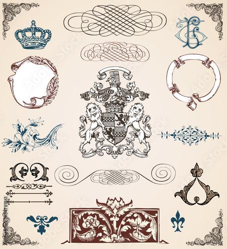 Slika na platnu Ornements