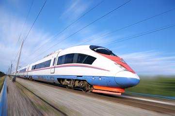 Brzi prigradski vlak.