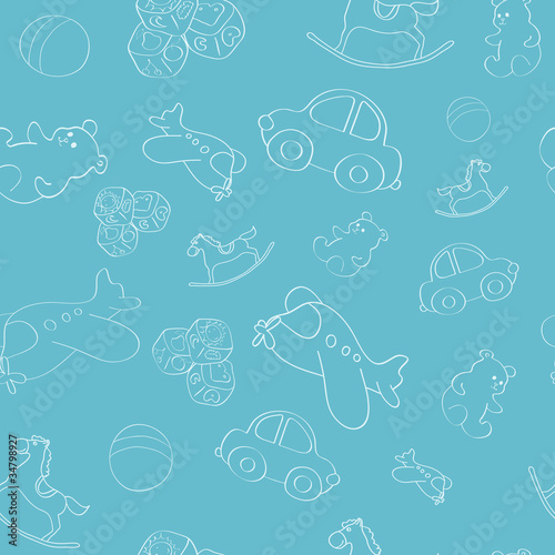 Kid`s pattern #34798927