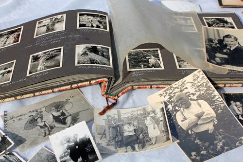 Valokuva Alte Fotos, altes Fotoalbum