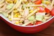 canvas print picture - Nudelsalat - Pasta salat