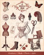 Couture Paris 1900