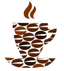 Fototapeta Kawa Abstract coffee