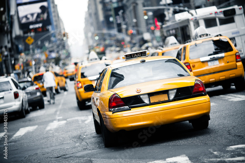 Printed kitchen splashbacks New York TAXI New York taxi