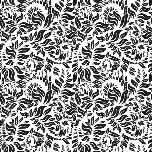 Fototapety, obrazy: floral seamless pattern.jpg