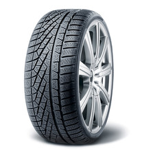 Winter Tire With Alurim On White Background