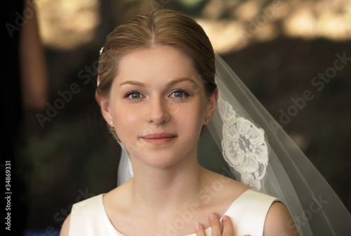Fototapeta Beautiful bride