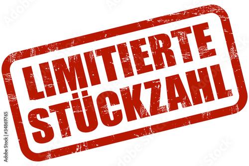 Fotografía  Grunge Stempel rot LIMITIERTE STÜCKZAHL