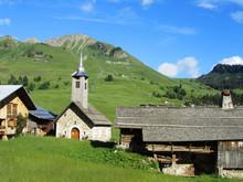 Haute Savoie : La Chapelle Du Chinaillon