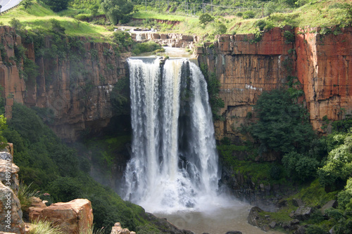 Poster Afrique du Sud The Elands River Waterfall at Waterval Boven