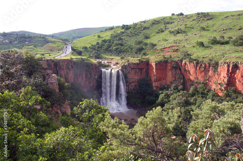 Foto op Plexiglas Zuid Afrika The Elands River Waterfall at Waterval Boven