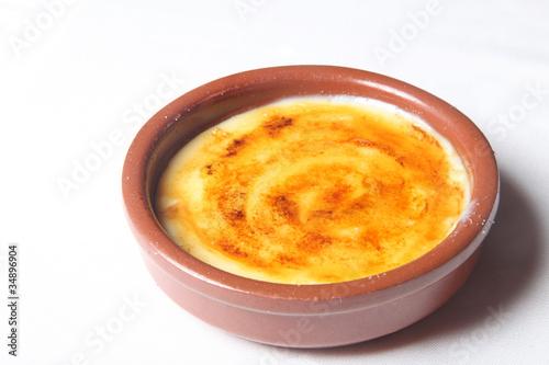 Valokuva  crema catalana