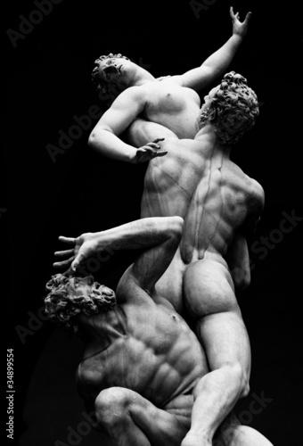 Valokuvatapetti Architecture, Italian statues