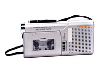 Dictaphone On White Backgrounds