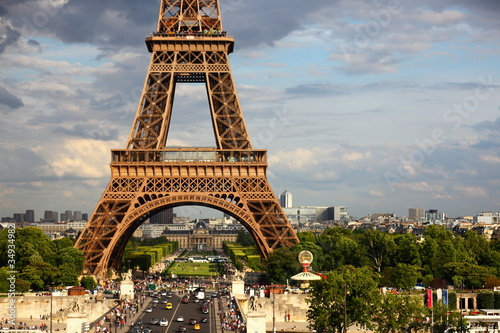 Photo  Eiffel Tower - Paris