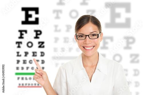 Fotografía  Optician / Optometrist
