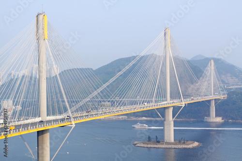 Photo  Ting Kau Bridge