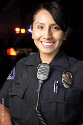 police officer Fototapet
