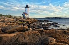 Annisquam Lighthouse In Massachusetts