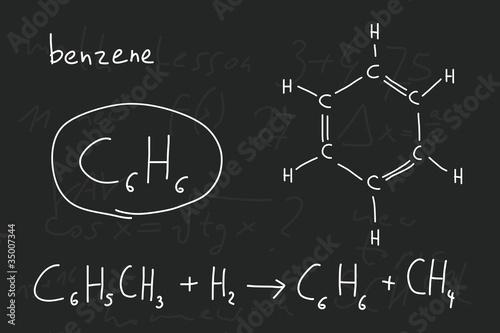 Chemistry lesson Wallpaper Mural
