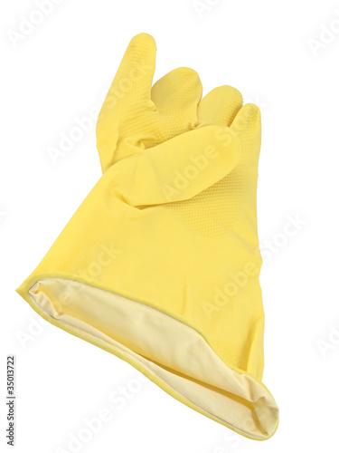 Obraz Rękawiczka ochronna - fototapety do salonu