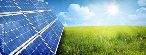 solar panel Fototapeta