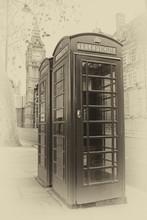Vintage  Image Of London Phone...
