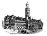Bradford City Hall, Bradford, West Yorkshire, United Kingdom, vi