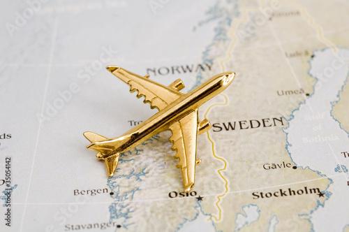Plane Over Sweden
