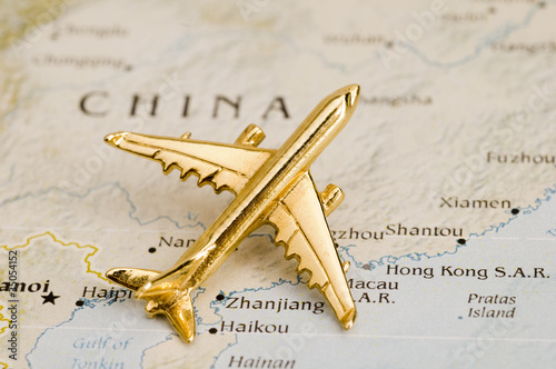 Plane Over China