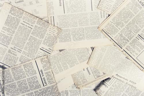 Printed kitchen splashbacks Newspapers old newspapers