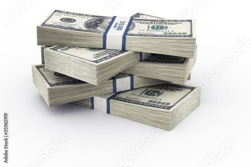 Fotografie, Obraz  Money stack