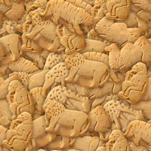 Animal Crackers Seamless Texture Tile From Photo Originals